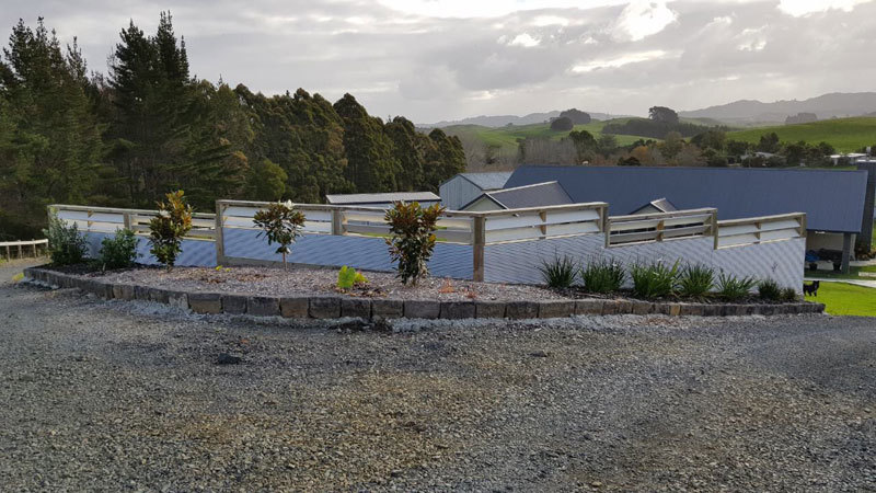 Retaining Walls Auckland | Gabion Basket Retaining Wall